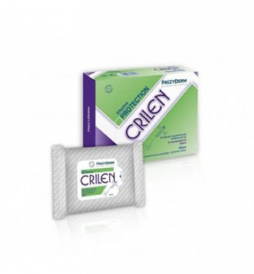 Frezyderm Crilen Wipes 20 τεμ.