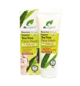 Dr.Organic Tea Tree Face Wash 200ml