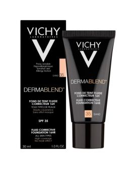 Vichy DERMABLEND Fluide SPF35, No. 35 Sand, 30ml