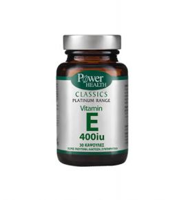 Power Health Platinum Vitamin E 400iu 30s