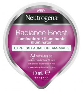 Neutrogena Radiance Boost The illuminator Μάσκα Express σε μορφή Κρέμας 10ml