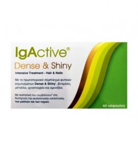 IgActive Dense & Shiny Intrensive Treatment Hair And Nails 60caps
