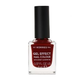 Korres Gel Effect Βερνίκι Νυχιών Wine Red No59 11ml