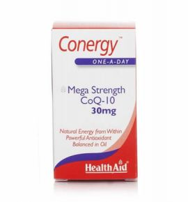 Health Aid Conergy CoQ10 30mg 30 caps