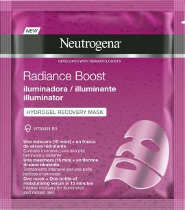 Neutrogena Radiance Boost Illuminator Hydrogel Recovery Mask 30ml