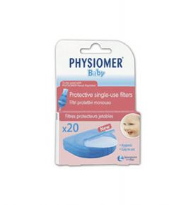Physiomer Baby Protective Single-Use Filters 20τμχ
