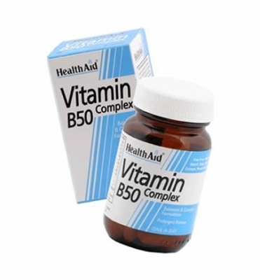 Health Aid B50 Complex Prolonged Release 30 tabs