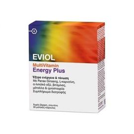 Eviol Multivitamin Energy Plus 30tabs
