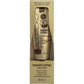 Intermed Luxurious Sun Care Instant Lifting Face Cream SPF30, 50ml