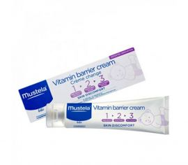 Mustela Vitamin Barrier Cream 1 2 3 Κρέμα Αλλαγής 100ml