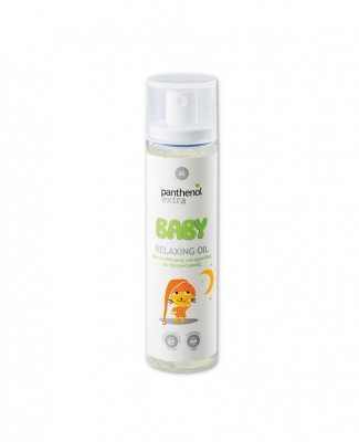 Panthenol Extra Baby Relaxing Oil Λάδι Ενυδάτωσης για Βρεφικό Μασάζ 100ml