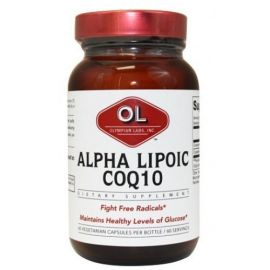 Olympian Labs Alpha Lipoic Acid CoQ10 100mg 60caps