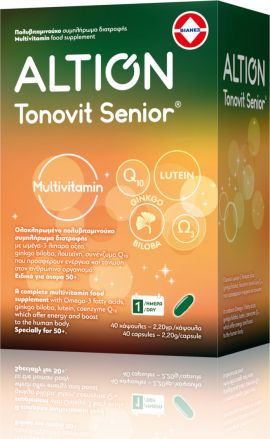 Altion - Tonovit Senior Multivitamin 40 κάψουλες