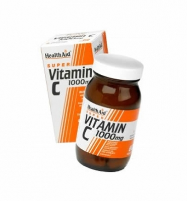 Health Aid Vitamin C 1000mg Chewable Orange Flavour 30 tabs