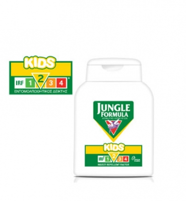 Jungle Formula Kids με IRF 2, 125ml