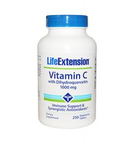 Life Extension Vitamin C with Dihydroquercetin 1000mg 250tabs