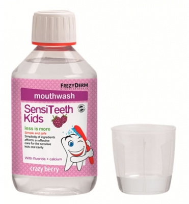 Frezyderm SensiTeeth Kids Mouthwash 250 ml