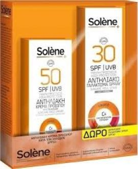 Solene Antispot SPF 50,50ml & Spray SPF 30, 150ml