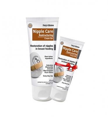 Frezyderm Nipple Care Restructuring Cream Gel 40ml +επιπλέον ποσότητα 30ml