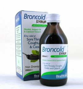 Health Aid Broncold Syrup 200ml