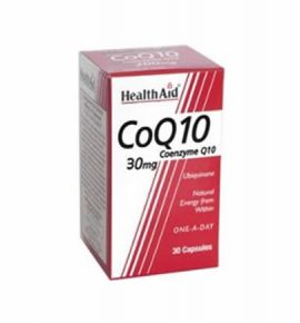 Health Aid CoQ-10 30mg 30 caps