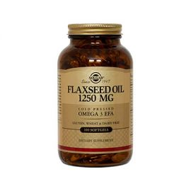 Solgar Flaxseed Oil (Cold Pressed) 1250mg  softgels 100s