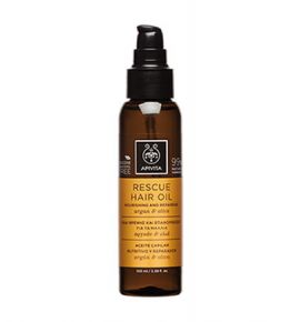 Apivita Holistic Hair Care Rescue Hair Oil 100ml