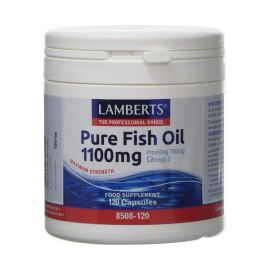 Lamberts Pure Fish Oil 1100mg (EPA) 120 caps (Ω3) New Higher Strength