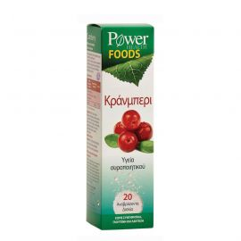 Power Health Cranberry eff tabl 20s