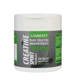 Lamberts Performance Creatin 1000mg 250 tabs