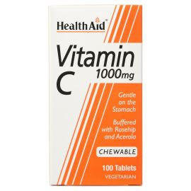Health Aid Vitamin C 1000mg Chewable 100 Tablet