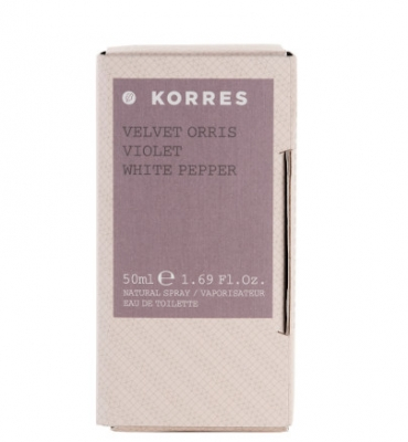 Korres Velvet Orris/ Violet/ White pepper/ 50 ml