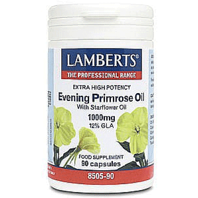 Lamberts Evening Primose Oil & Starflower Oil 1000mg 90 caps