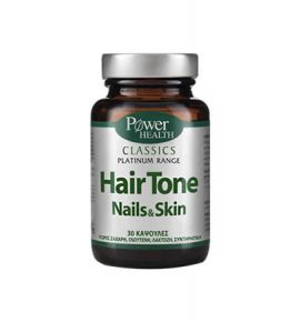 Power Health Platinum Hairtone-Nails-Skin 30 caps