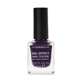 Korres Gel Effect Βερνίκι Νυχιών Violet Garden No75 11ml
