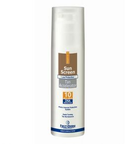 Frezyderm Sun Screen Tan Accelerator SPF 10 / UVA 150 ml
