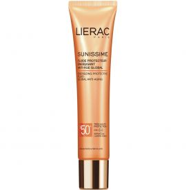 Lierac Sunissime Energizing Protective Fluid Global Anti Aging SPF50+ 40ml