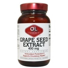 Grape Seed Extract 400mg 100 tabs