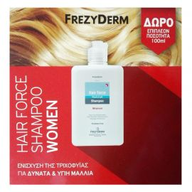 Frezyderm HAIR FORCE Shampoo Women 200ml + 100ml επιπλέον ποσότητα