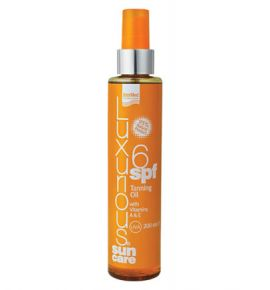 Luxurious Sun Care Tanning Oil SPF 6, 200ml