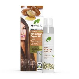 Dr. Organic Moroccan Argan Oil Hair Treatment Serum, 100 ml
