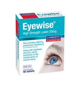 Lamberts Eyewise High Strength Lutein 20mg 60tabs