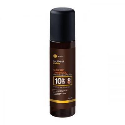 Panthenol Extra Sun Care Tanning Oil SPF10 face & body 150 ml