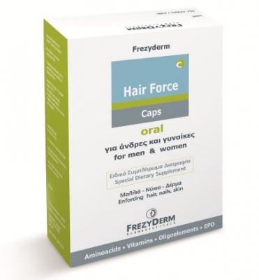 Frezyderm Hair Force Caps 60 pcs